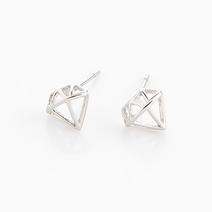 Diamond Earrings by Timi