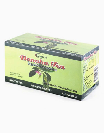Banaba Tea (30 Teabags) by Carica