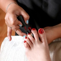 Gel Pedicure by Sophie's Salon and Spa