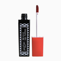 Bench paint box lip tattoo in red