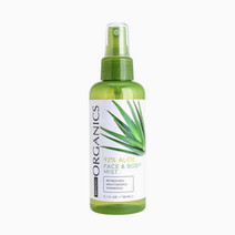 Bench organics 92  aloe face   body mist