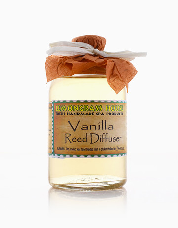 Vanilla Oil Diffuser (120ml) by Lemongrass House