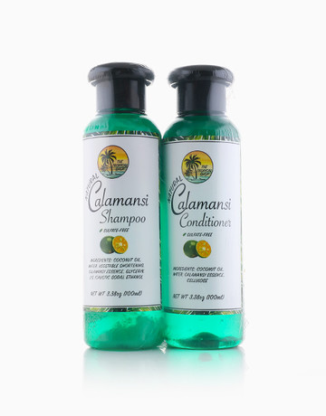 Calamansi Hair Care Set By The Tropical Shop Beautymnl Philippines