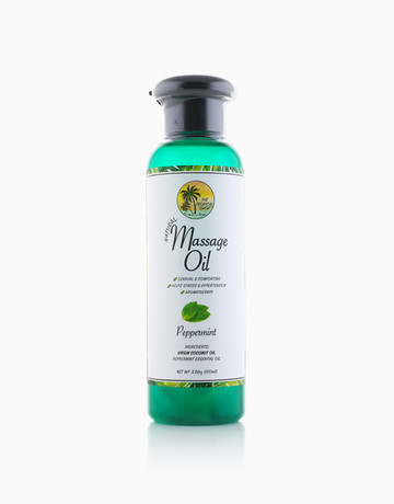 Massage Oil (Peppermint) by The Tropical Shop
