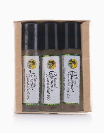 Natural Essential Oil Set by The Tropical Shop