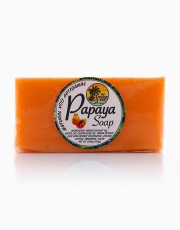 VCO Papaya Soap by The Tropical Shop
