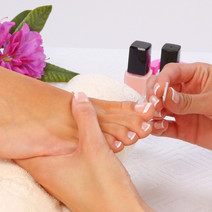 Whitening + Foot Spa + Pedi by Skin Philosophie