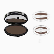 Eyebrow Stamp Set by Novo Cosmetics in Dark Brown