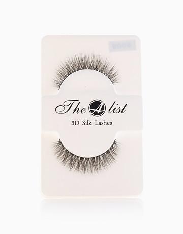 3D Silk False Eyelashes S009 by The A-List