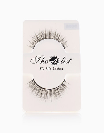 3D Silk False Eyelashes S008 by The A-List