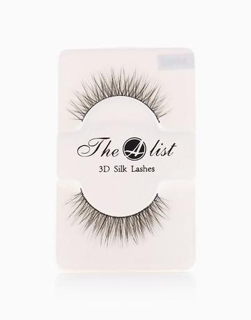 3D Silk False Eyelashes S002 by The A-List