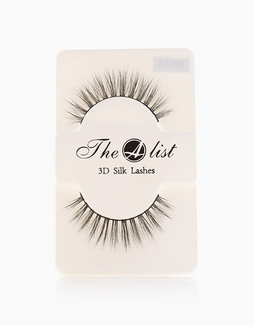 3D Silk False Eyelashes S034 by The A-List