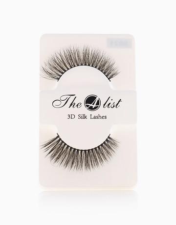 3D Silk False Eyelashes S021 by The A-List