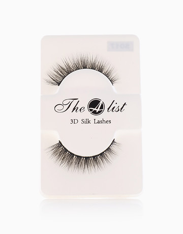 3D Silk False Eyelashes S017 by The A-List