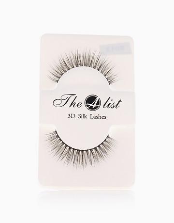3D Silk False Eyelashes S013 by The A-List