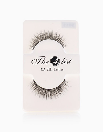 3D Silk False Eyelashes S011 by The A-List