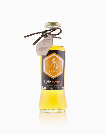 Light Wild Honey (350ml) by La Miel Filipina