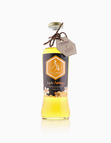 Light Wild Honey (500ml) by La Miel Filipina