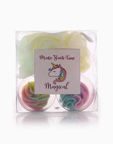 Shimmer Unicorn Cupcakes by The Soap Farm