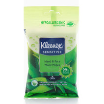 Hand & Face Aloe Wipes by Kleenex