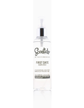 First Date Room Spray (100ml) by Scentido Soy Candles