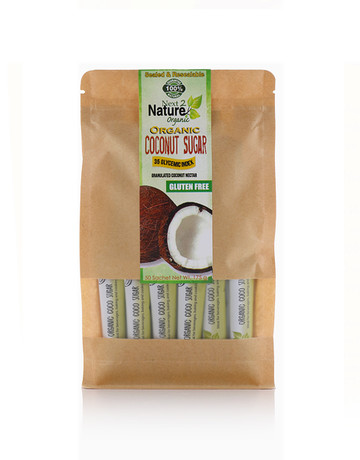 Coconut Sugar Sachets (50 pcs) by Next2Nature