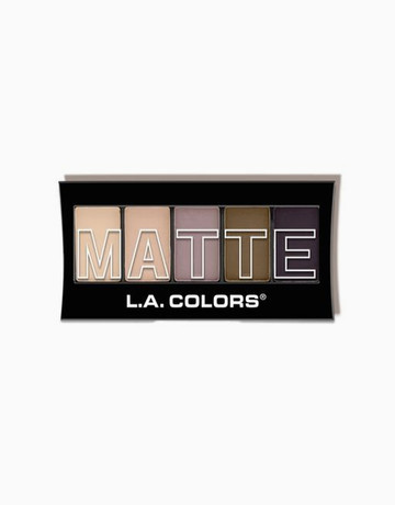 Matte Eyeshadow Palette by L.A. Colors