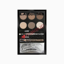 La colors i heart mnakeup brow palette light   medium