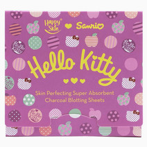 Happy skin (3 sanrio skin perfecting super absorbent charcoal blotting sheets