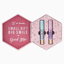 Happy skin (3 sanrio moisturizing matte lippie set in flower power   berry good 2
