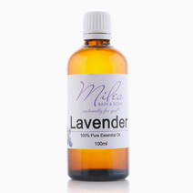 All Organics 100% Pure Lavender Essential Oil (100ml) by Milea