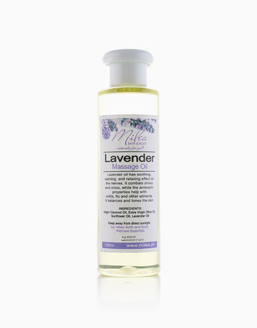 Lavender Massage Oil (120ml) by Milea