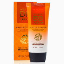 3w clinic mayu sun shield horse oil bb cream