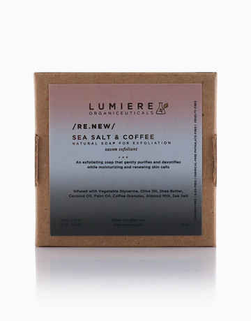 Sea Salt & Coffee Soap by Lumiere Organiceuticals