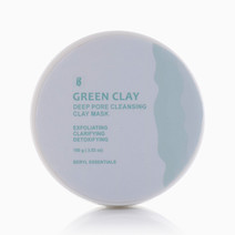 French Green Clay Mask (100g) by Beryl Essentials