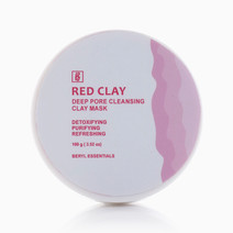 French Clay Red Mask (100g) by Beryl Essentials