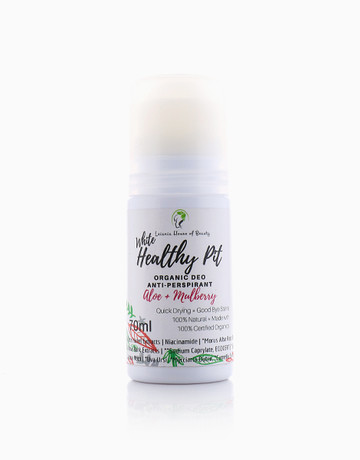 White Healthy Pit Roll-On by Leiania House of Beauty