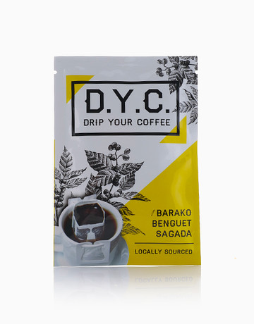 Barako Drip Coffee Sachet by D.Y.C. (Drip Your Coffee)