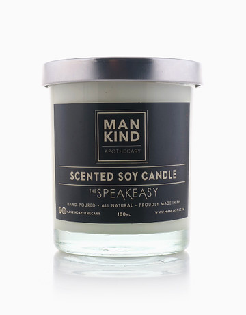 The Speakeasy Soy Candle by Mankind Apothecary Co.