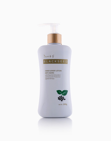 Black Seed Body Lotion (200g) by Davis & G Blackseed Collection