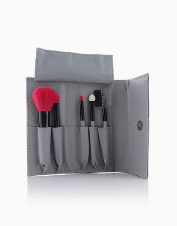 5-Piece Face Brush Set by Suesh