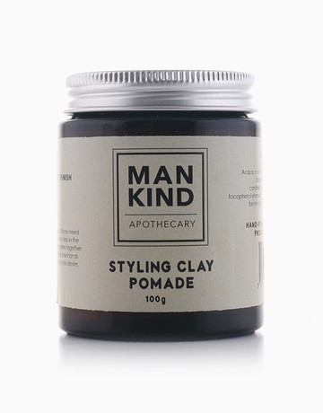 Styling Clay Pomade by Mankind Apothecary Co.