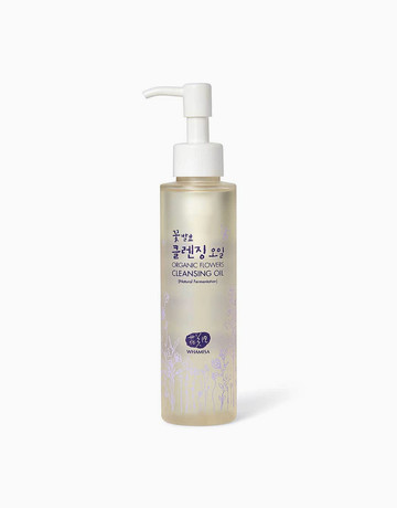 Organic Flowers Cleansing Oil by Whamisa