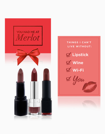 You Had Me At Merlot Set by BeautyMNL