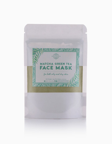 Matcha Green Tea Face Mask by Manila Superfoods