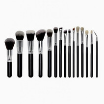 15-Piece Premium Brush Set by Brush Work