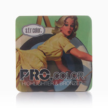 Highlighter & Bronzer by SFR Color in #1 Pearl/ dark Brown (Sold Out - Select to Waitlist)