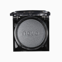Single Eyeshadow with Mirror by Novo Cosmetics in #2 Silver