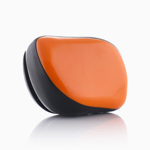 Jetset Travel Brush  by Stylista Hair Essentials in Orange Pop