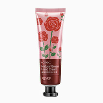 Rorec rose natural green hand cream